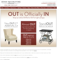 #690 Outlet Savings Email